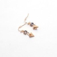 Spike Drop Earrings