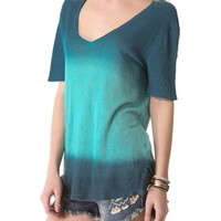 Three Dots Ombre Relaxed Tee | SHOPBOP