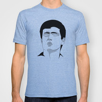 Ian Curtis T-shirt by TwO Owls