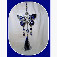Butterfly Evil Eye Hanging