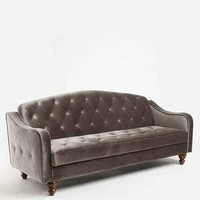 Ava Velvet Tufted Sleeper