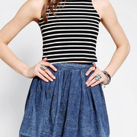 Urban Outfitters - Glamorous Mock Neck Cropped Top