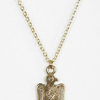 Diament Jewelry For Urban Renewal Etched Bird Necklace