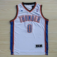 Youth Oklahoma City Thunder #0 Russell Westbrook Jersey