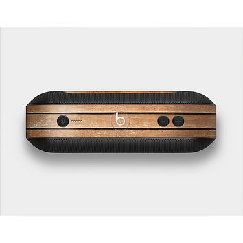 The Worn Wooden Panks Skin Set for the Beats Pill Plus
