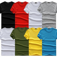 Plain Colored T-Shirts