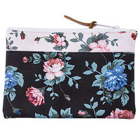 The Field Media Pouch in Floral