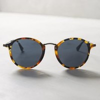 Ray-Ban Round Icon Sunglasses in Brown Motif Size: One Size Eyewear