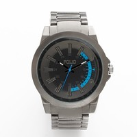 Folio Gunmetal Watch - FMDMSG018 - Men (Black)