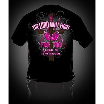 Sweet Thing Fight Pink Ribbon Breast Cancer Girlie Bright T Shirt