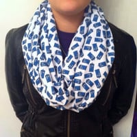 Doctor Who Inspired Tardis Infinity Scarf