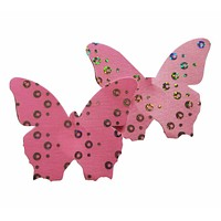Embellished Butterfly Pink Pasties