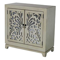 Enchanted Mirrored Glass Sideboard