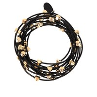 Bee Charming Jewelry Piano Wire Bracelet Set with Hearts
