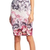 Adrianna Papell Short Fitted Dress Semi-Formal