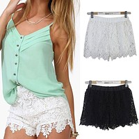 IT'S ALL ABOUT THE LACE SHORTS