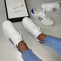 GUCCI 2021 New men and women  casual shoes