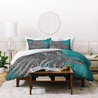 Valentina Ramos Beta Fish Duvet Cover