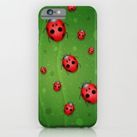 Pattern coccinelle iPhone & iPod Case by Ylenia Pizzetti | Society6