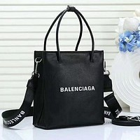 Balenciaga Fashion Leather Handbag Tote Satchel Crossbody