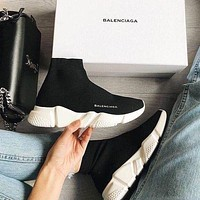 Balenciaga Woman Men Fashion Breathable Sneakers Running Shoes-2
