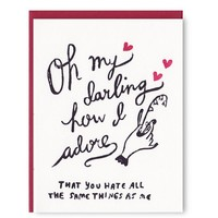 Oh My Darling Card