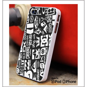 Skateboard Brands iPhone 4s iPhone 5 iPhone 5s iPhone 6 case, Galaxy S3 Galaxy S4 Galaxy S5 Note 3 Note 4 case, iPod 4 5 Case