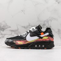 Off White X Nike Air Max 90  Camo Shoes - Best Online Sale