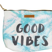PURA VIDA GOOD VIBES CLUTCH