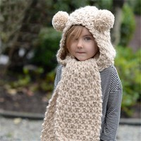 Winter Children Knit Scarf Hats [72080752655]