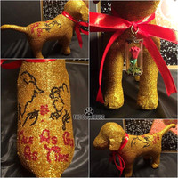 Beauty and The Beast Disney Tale As Old As Time Custom Victoria Secret Dog