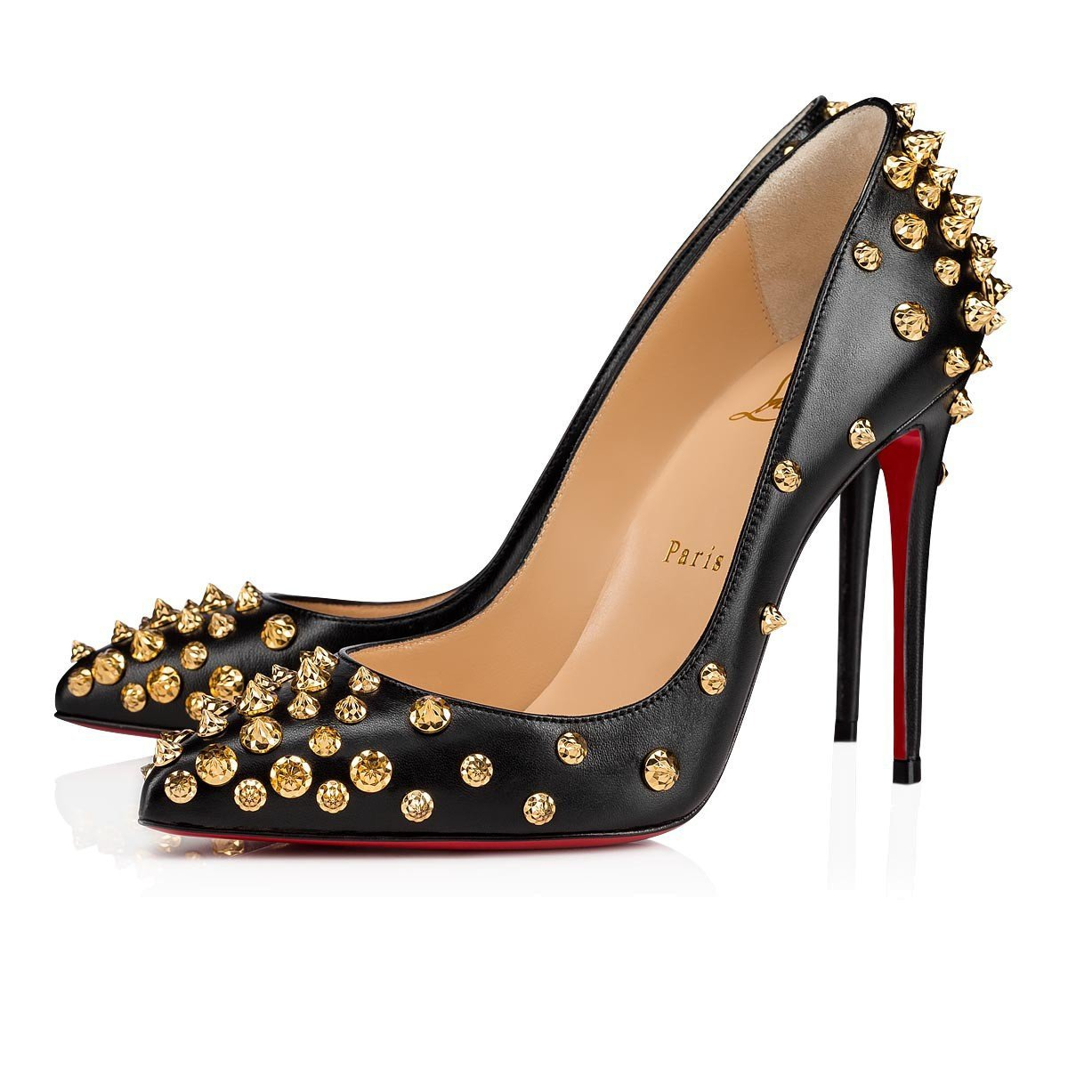 Image of Christian Louboutin Pointed high heels 9/2