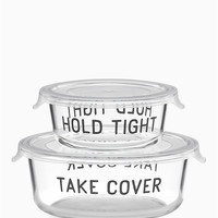 4pc round food storage containers | Kate Spade New York