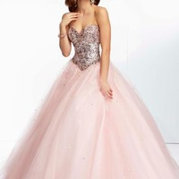 Mori Lee Homecoming Dresses 2014 95051 at Peaches Boutique