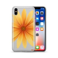 Yellow Daisy - Clear TPU Case Cover