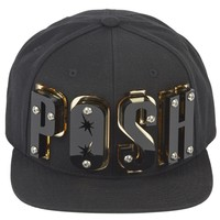 Adeen Black posh appliqu� cap