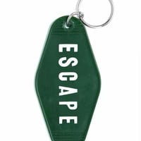 ESCAPE Keychain - Forest Green
