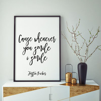 Song Lyrics,Quote Prints,JUSTIN BIEBER POSTER, What Do You Mean Wall Art,Dorm Room Decor,Quote Art,Girls Room Decor,Gift For Her,Digital