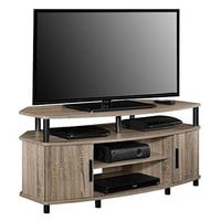 Home Carson TV Stand for Table Modern Coffee Wide Espresso levels of storage