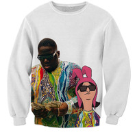 Biggie and Bobs burgers sweatshirt