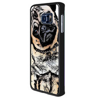 pugs alot dog c684be55-d2b4-4a47-8174-894fb412dc91 for Samsung Galaxy S6 Edge Plus Case *NS*