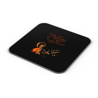 Jimmy Page Led Zeppelin Zoso Inspired Coaster