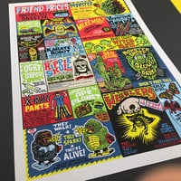 Ghoul City Gazette print