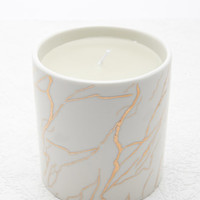 Metallic Etched Candle