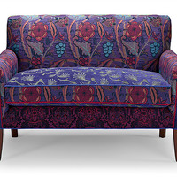 Salon Settee in Concord by Mary Lynn OShea: Upholstered Settee | Artful Home