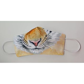 Tiger King of the Jungle Decorative Face Mask
