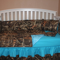 MAX 4 Camo 5 Piece Crib Bedding Set