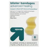up&up Hydrocolloid Blister Bandages - 6 Count