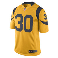 Nike NFL St. Louis Rams Color Rush Limited Jersey (Todd Gurley) Men's Football Jersey