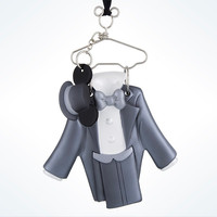 Disney Parks Wedding Groom Resin Costume Holiday Ornament New with Tags